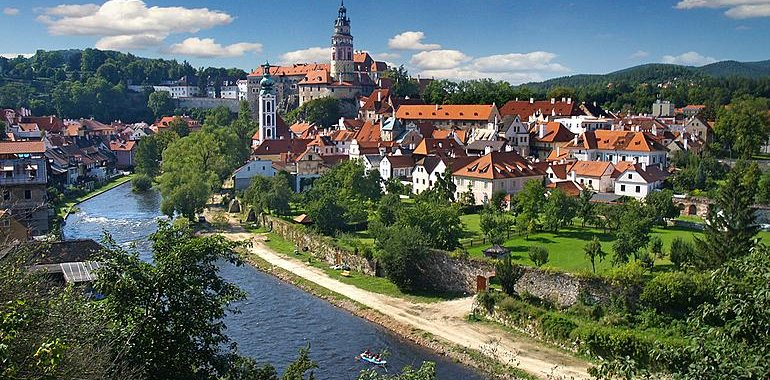 Walking Tour in Cesky Krumlov