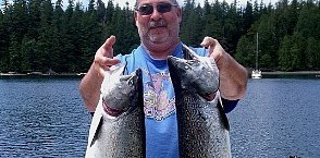 Fishing in Campbell River with Cliff Moors