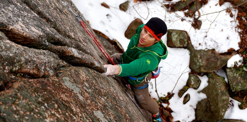 Climbing in New Hampshire with Matt Ritter