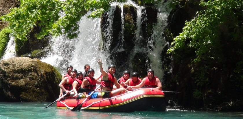 Rafting in Antalya