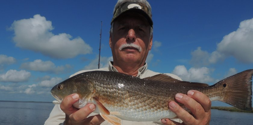 Fishing in Chalmette with Captain Bobby Earhart