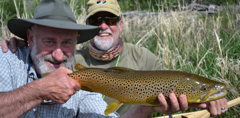 Fishing in Sheridan with Michael Stack