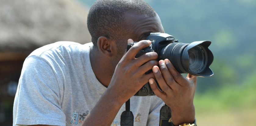 Wildlife Photography in Entebbe with Innocent Ampeire