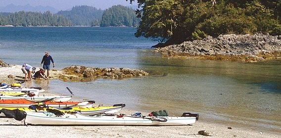 Kayaking in Ucluelet