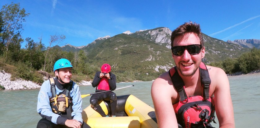 Canyoneering in Bovec with Crt Kenda