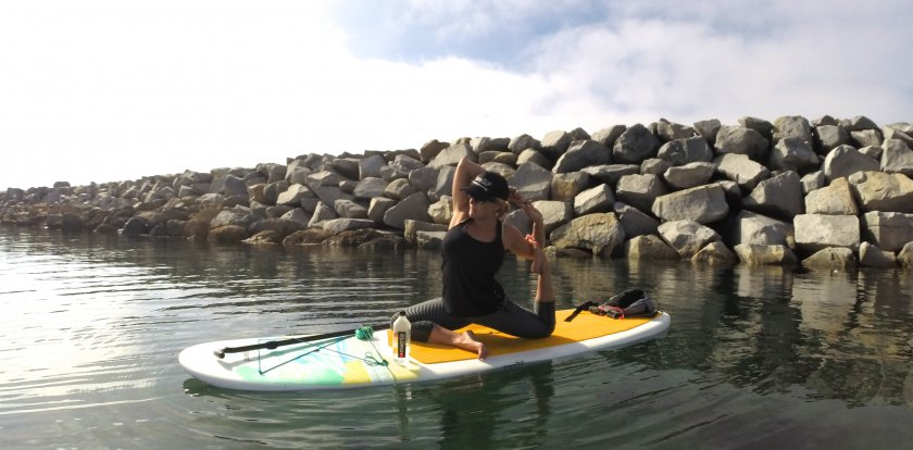 Stand Up Paddleboarding in Orange County with Brittany Slater