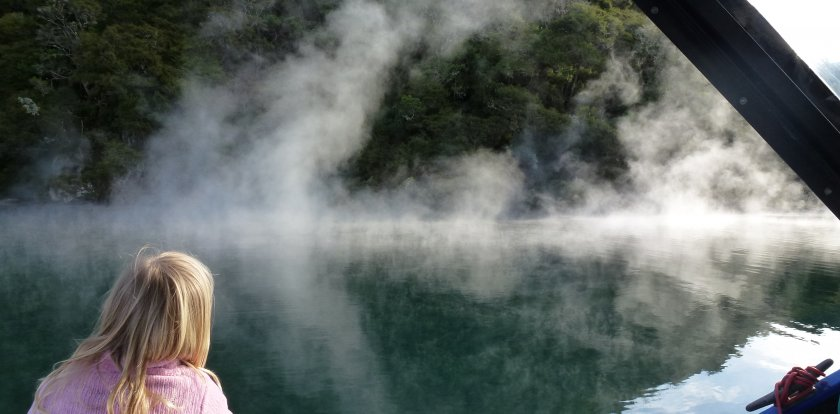 Boat Tour in North Island