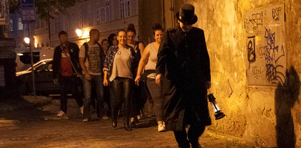 Ghost or Vampire Tour in Prague