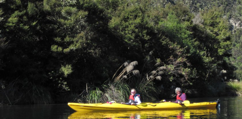 Kayaking in Taupo