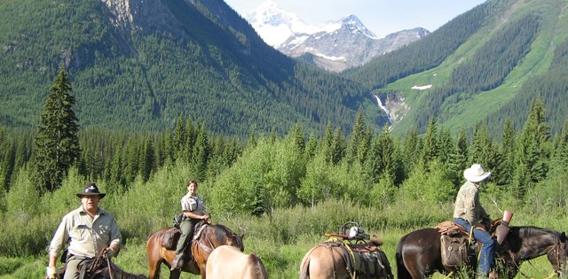 Horseback in British Columbia
