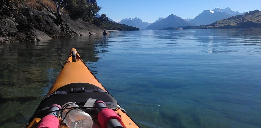 Kayaking in Queenstown
