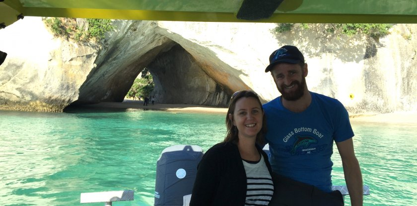 Boat Tour in Coromandel with Hayley Berry