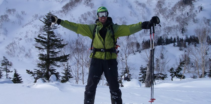 Backcountry Skiing in Hakuba with James Robb