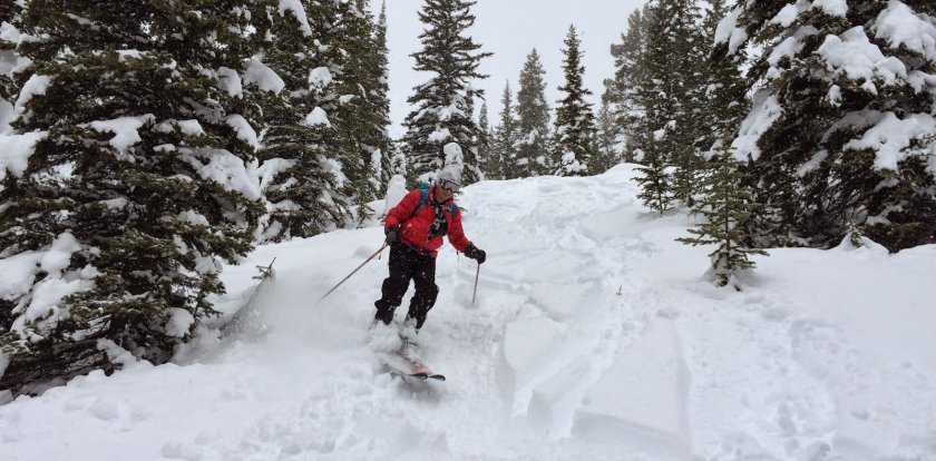 Skiing in British Columbia