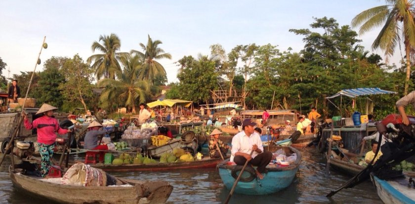 Boat Tour in Ho Chi Minh City
