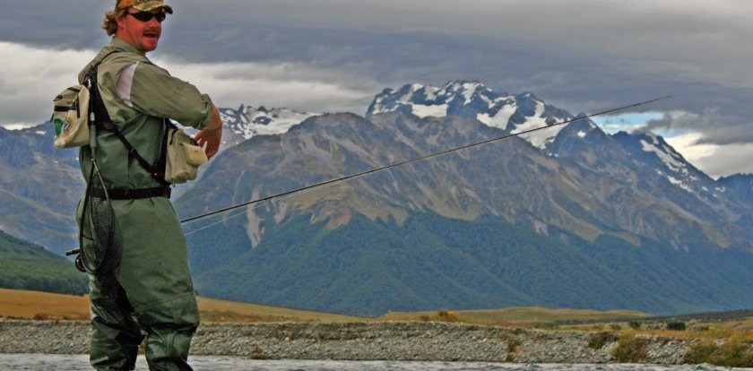 Fishing in South Island with Mark Salisbury