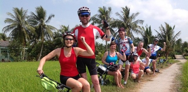 Cycling in Ho Chi Minh City