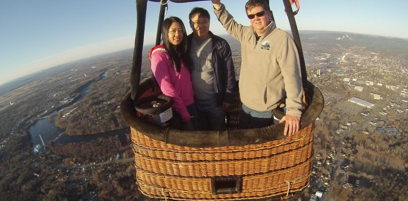 Hot Air Ballooning in Saratoga Springs