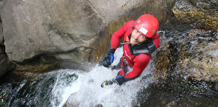 Canyoneering in Ticino with Augustin Pelletieri