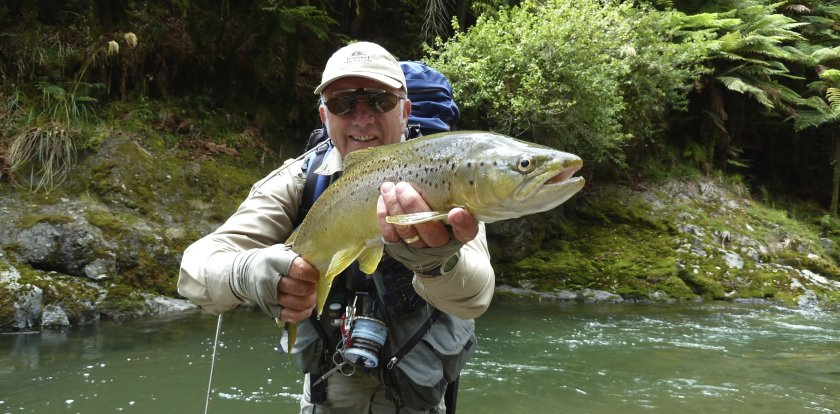 Fishing in Rotorua with John Hamill