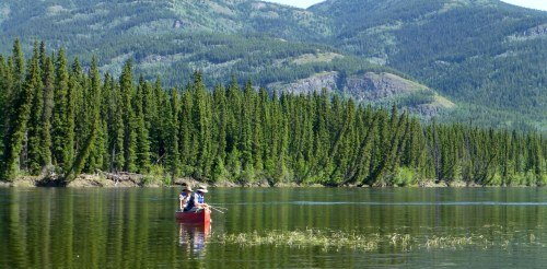 Canoeing in Whitehorse
