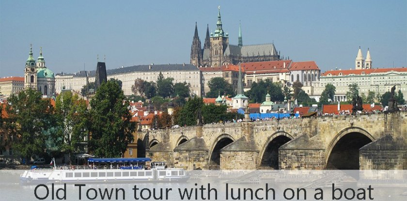 Boat Tour in Prague