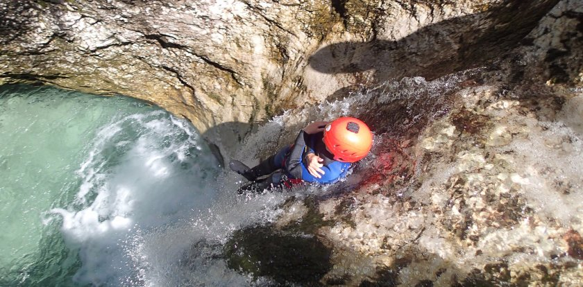 Canyoneering in Bovec
