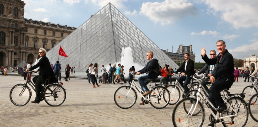 Bike Tour in Paris with Christina Buger
