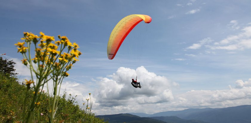 Paragliding in British Columbia