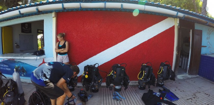 Scuba Diving in Lombok with Margaux