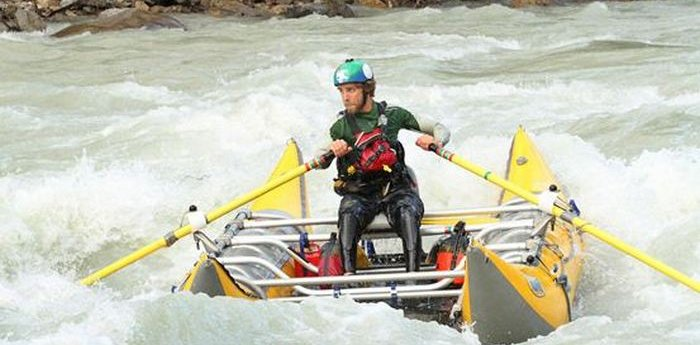 Rafting in Golden with Ryan Johannesen