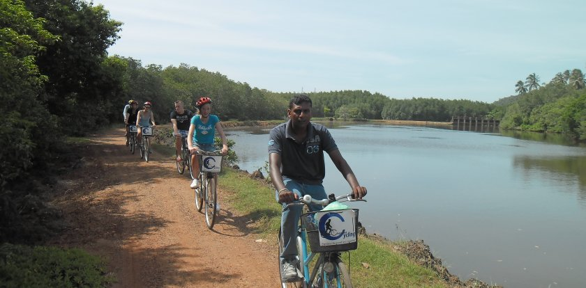 Bike Tour in Galle