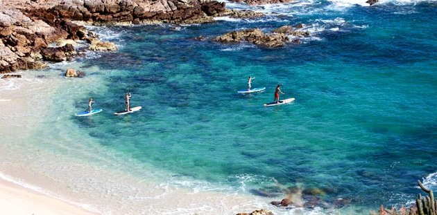 Stand Up Paddleboarding in La Paz