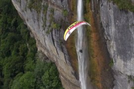 Watch (and Listen) to the Sounds of Paragliding