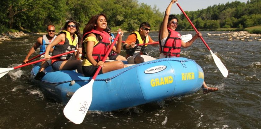 Rafting in Ontario