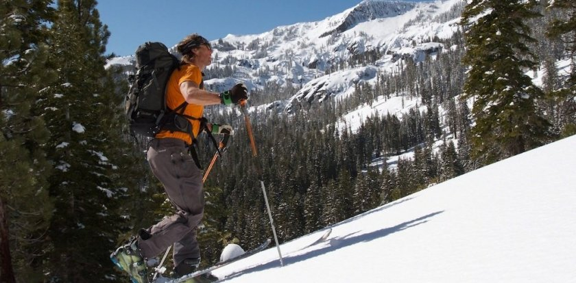 Backcountry Skiing in Tahoe City