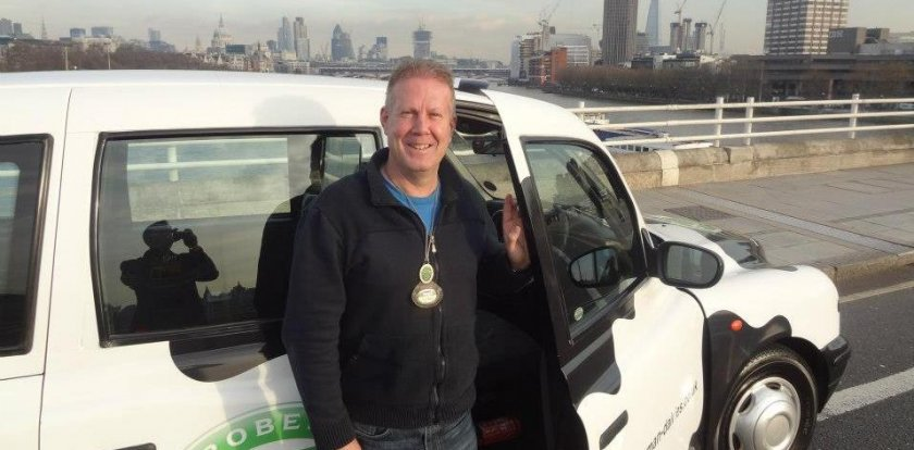 Car Tour in London with Steve Norris