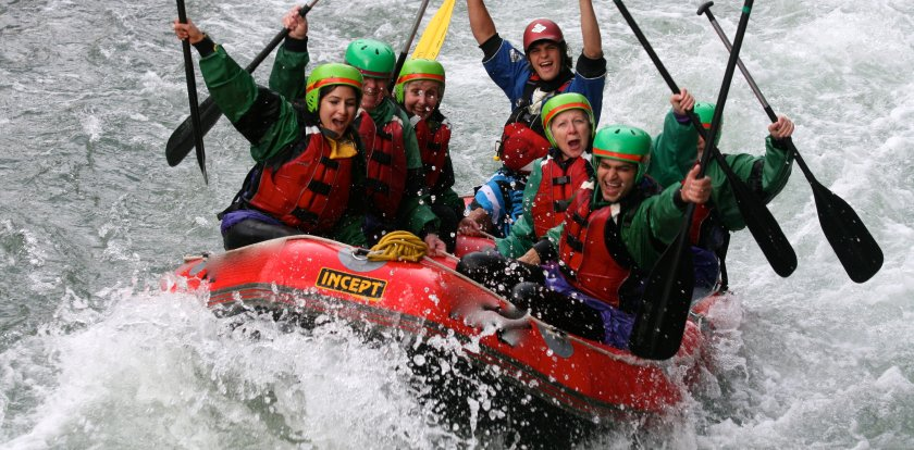 Rafting in Tongariro