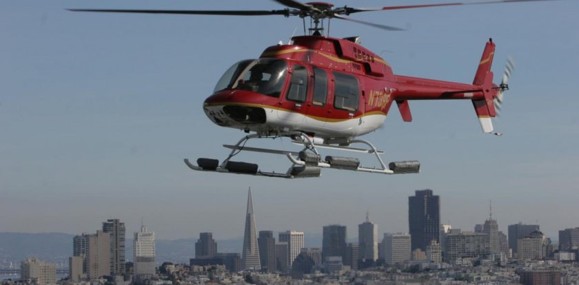 Helicopter Tour in San Francisco with Teri McClelland