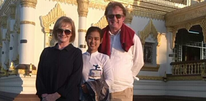 Car Tour in Myanmar with Ms. Thida Lin