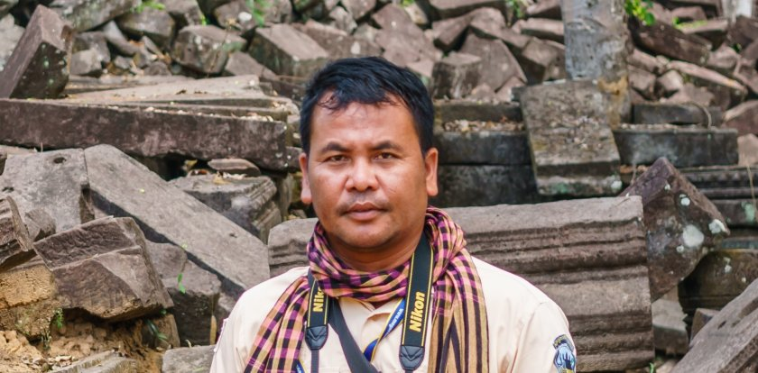 Heritage-History Tour in Angkor Wat with Sophanna Muon