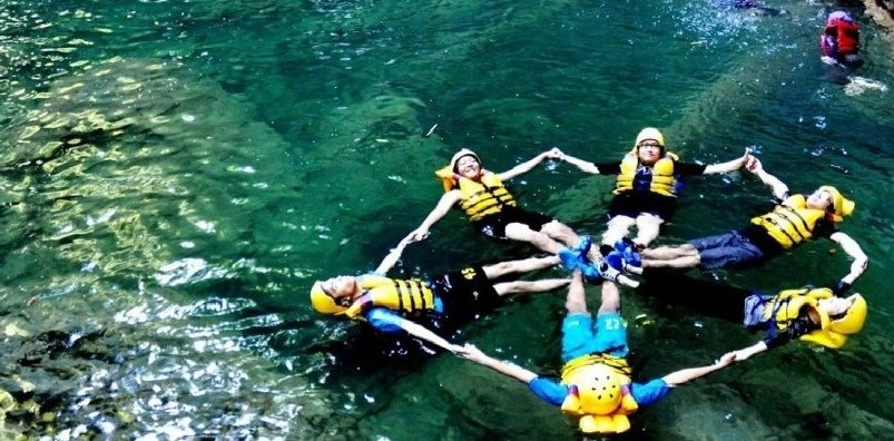 Rafting in Cijulang