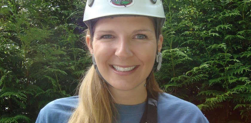 Ziplining in Sooke with Vanessa O.