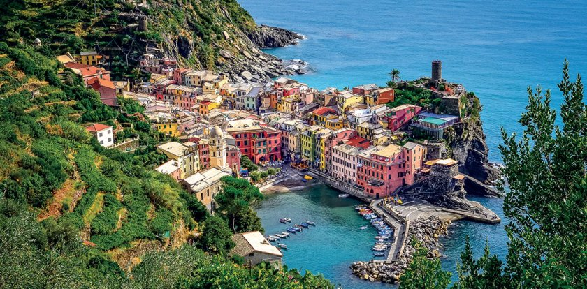 Walking Tour in Cinque Terre