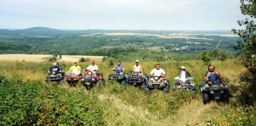 ATV Tour in Mapleton