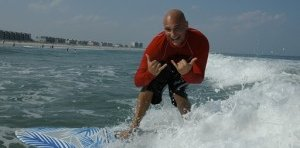 Surfing in Wrightsville Beach with Rick Civelli