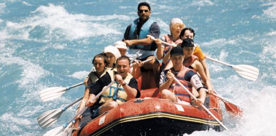 Rafting in Bodrum