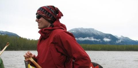 Canoeing in Langley with David Woolridge