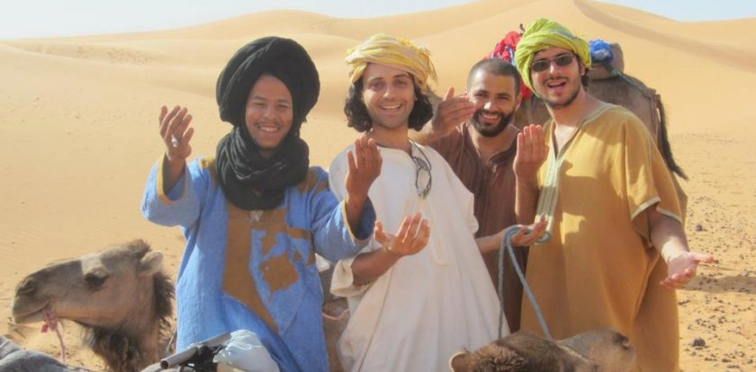 Camel Riding Tour in Merzouga