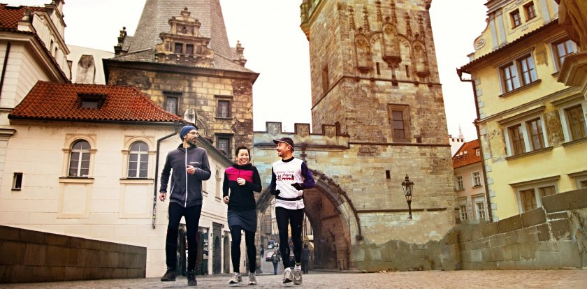 Running Tour in Prague